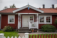 August 30, 2018: Backa neighborhood, located in the countryside of the Gävle municipality, is home of a growing support of the Swedish Democrats (Sverigedemokraterna), a right wing party running in the coming national elections.