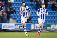 Kurtis Guthrie of Colchester United celebrates his opening goal during Colchester United vs Cheltenham Town, Sky Bet EFL League 2 Football at the Weston Homes Community Stadium on 6th January 2018
