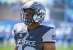 September 10, 2016 - Colorado Springs, Colorado, U.S. - Air Force defender, Ryan Watson #40, prior to the NCAA Football game between the Georgia State Panthers and the Air Force Academy Falcons, Falcon Stadium, U.S. Air Force Academy, Colorado Springs, Colorado.  Air Force defeats Georgia State 48-14.