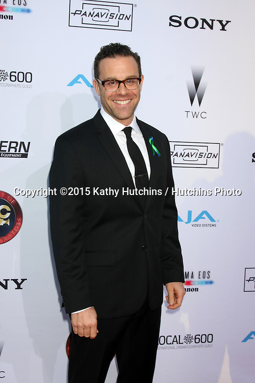 LOS ANGELES - FEB 8:  Matthew Rauch at the 2015 Society Of Camera Operators Lifetime Achievement Awards at a Paramount Theater on February 8, 2015 in Los Angeles, CA