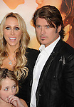 """HOLLYWOOD, CA. - March 25: Billy Ray Cyrus and Executive producer Tish Cyrus  arrive to """"The Last Song"""" Los Angeles Premiere at ArcLight Hollywood on March 25, 2010 in Hollywood, California."""
