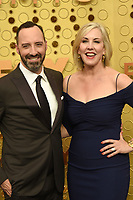 LOS ANGELES - SEP 22:  Tony Hale, Mariel Hale at the Primetime Emmy Awards - Arrivals at the Microsoft Theater on September 22, 2019 in Los Angeles, CA