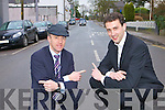 Cllr's Michael Healy Rae and Patrick Connor-Scarteen who are welcoming changing Shelbourne Street, Kenmare into two way traffic