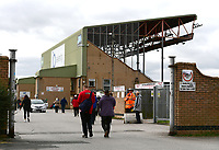 Lincoln City fans arrive at the ground ahead of the game<br /> <br /> Photographer Chris Vaughan/CameraSport<br /> <br /> The EFL Sky Bet League Two - Lincoln City v Chesterfield - Saturday 7th October 2017 - Sincil Bank - Lincoln<br /> <br /> World Copyright &copy; 2017 CameraSport. All rights reserved. 43 Linden Ave. Countesthorpe. Leicester. England. LE8 5PG - Tel: +44 (0) 116 277 4147 - admin@camerasport.com - www.camerasport.com