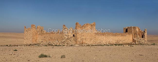 Qsar Bshir, Mobene fortress, best preserved Roman fort in the world, Castra Praetoria, built 293 - 305, el-Qatrana, Jordan desert, Jordan. Picture by Manuel Cohen