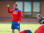 Lee McCulloch imagines life as a referee flashing cards at his team mates