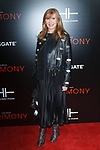 """Fashion designer Nicole Miller arrives on the red-carpet for the Tyler Perry""""s ACRIMONY movie premiere at the School of Visual Arts Theatre in New York City, on March 27, 2018."""