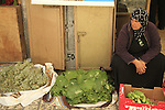 Israel, Jerusalem, vegetables vendor at the Old City