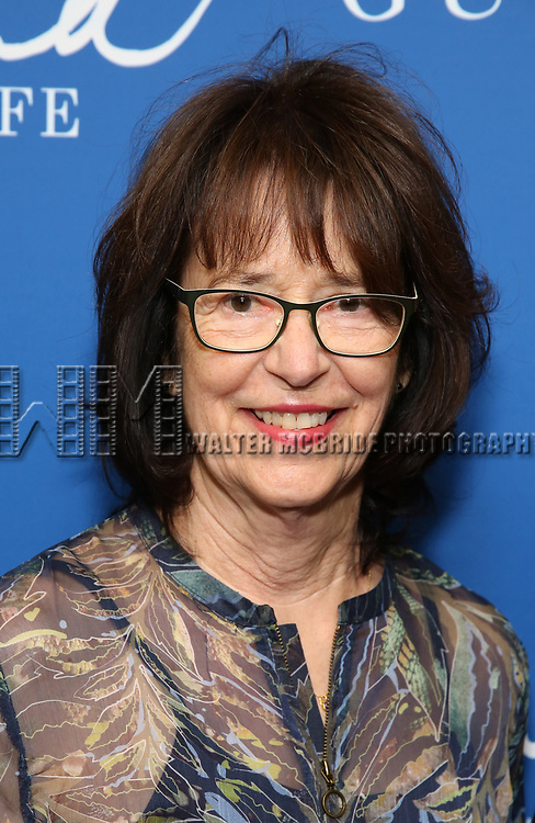 "Joanne Edgar attends the Opening Night Performance of ""Gloria: A Life"" on October 18, 2018 at the Daryl Roth Theatre in New York City."