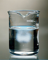 SUPERSATURATED SOLUTION - SODIUM ACETATE IN WATER: 5 of 6<br />