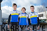 At the Lacey Cup on Sunday were Tralee Cycle Club Cillian Tierney, Ciara Tierney, Shane Finn