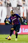 Arturo Vidal of FC Barcelona in action during the La Liga 2018-19 match between Rayo Vallecano and FC Barcelona at Estadio de Vallecas, on November 03 2018 in Madrid, Spain. Photo by Diego Gouto / Power Sport Images