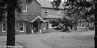 The main building, Summerhill school, Leiston, Suffolk, UK. 1968.