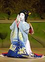 Kabuki from Tokyo. Kasane with Kamejiro Ichikawa II. Opens at Sadlers Wells Theatre on 31/5/06. CREDIT Geraint Lewis