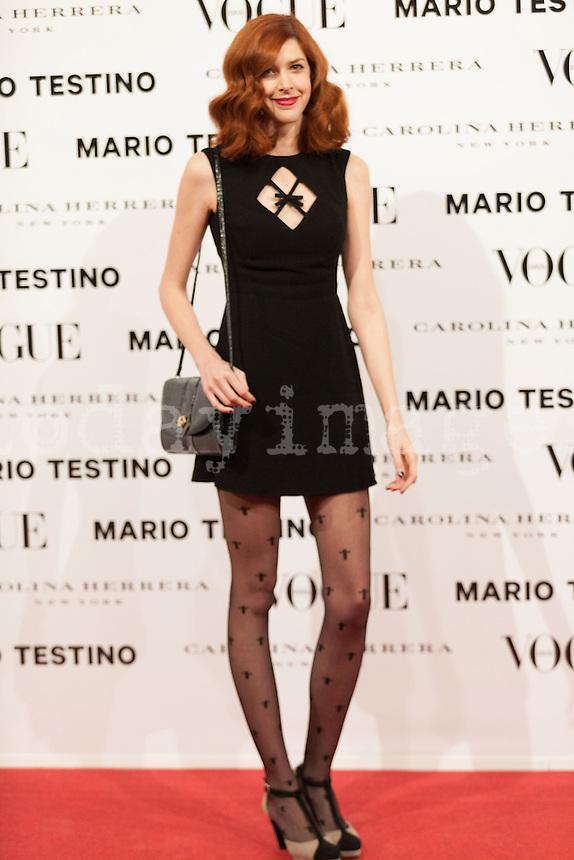 Brianda Fitz-James at Vogue December Issue Mario Testino Party