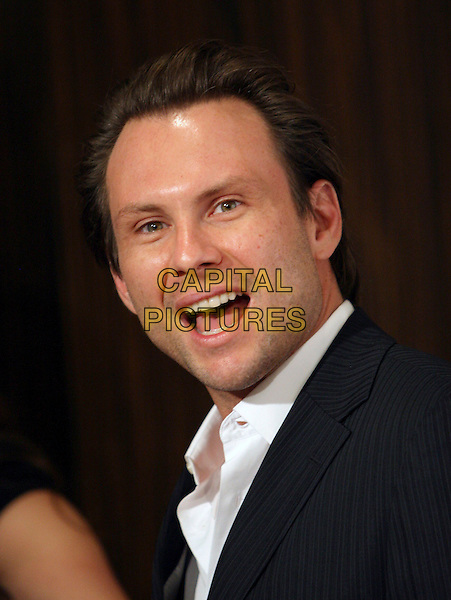 CHRISTIAN SLATER.attends The Hollywood Film Festival 10th Annual Hollywood Awards Gala held at The Beverly Hilton in Beverly Hills, California, USA, October 23rd 2006..portrait headshot mouth open funny.Ref: DVS.www.capitalpictures.com.sales@capitalpictures.com.©Debbie VanStory/Capital Pictures