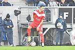 Kaan Ayhan (Fortuna Duesseldorf #5) am Ball beim Spiel in der Fussball Bundesliga, TSG 1899 Hoffenheim - Fortuna Duesseldorf.<br /> <br /> Foto © PIX-Sportfotos *** Foto ist honorarpflichtig! *** Auf Anfrage in hoeherer Qualitaet/Aufloesung. Belegexemplar erbeten. Veroeffentlichung ausschliesslich fuer journalistisch-publizistische Zwecke. For editorial use only. DFL regulations prohibit any use of photographs as image sequences and/or quasi-video.