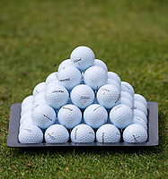 Practice Balls during the GOLFSIXES ProAm  at Centurion Club, St Albans, England on 5 May 2017. Photo by Andy Rowland.