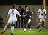 Stanford, CA - October 3, 2019: Beattie Goad at Laird Q Cagan Stadium. The Stanford Cardinal beat the Washington State Cougars 5-0.