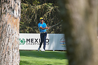 Rafael Cabrera Bello (ESP) watches his tee shot on 16 during the preview of the World Golf Championships, Mexico, Club De Golf Chapultepec, Mexico City, Mexico. 2/28/2018.<br /> Picture: Golffile | Ken Murray<br /> <br /> <br /> All photo usage must carry mandatory copyright credit (&copy; Golffile | Ken Murray)