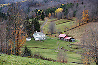 Rural house and scenic property, New York, USA