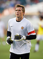 Tomasz Kusczak. Manchester United defeated Philadelphia Union, 1-0.
