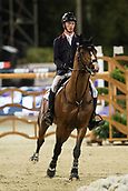 29th September 2017, Real Club de Polo de Barcelona, Barcelona, Spain; Longines FEI Nations Cup, Jumping Final; WHITAKER William (GBR) riding Utamaro D Ecaussines during the final of the Nations Cup