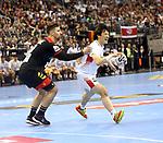 10.01.2019, Mercedes Benz Arena, Berlin, GER, Handball WM 2019, Deutschland vs. Korea, im Bild Uwe Gensheimer (GER #3), #k34#<br /> <br />      <br /> Foto © nordphoto / Engler