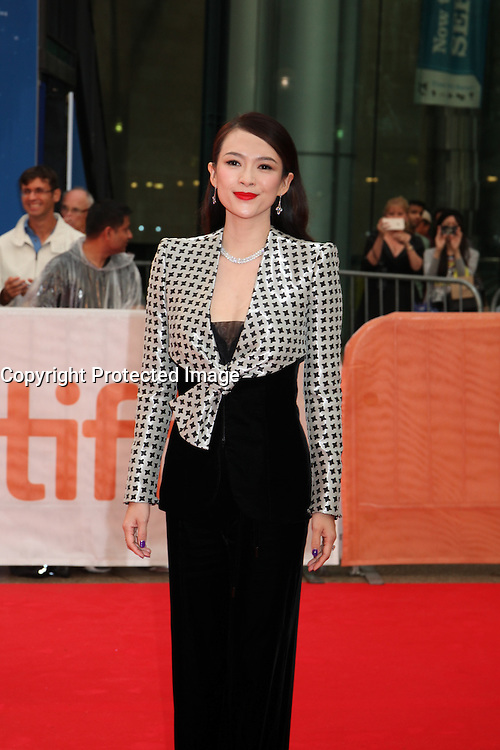 ZHANG ZIYI - RED CARPET OF THE FILM 'THE EDGE OF SEVENTEEN' - 41ST TORONTO INTERNATIONAL FILM FESTIVAL 2016 IN TORONTO, 17/09/2016. # FESTIVAL INTERNATIONAL DU FILM DE TORONTO 2016