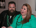 Phillip and Amber on St. Patrick's Day in Sparks on Friday, March 17, 2017.