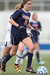 04 November 2012: Virginia's Morgan Brian. The University of Virginia Cavaliers defeated the University of Maryland Terrapins 4-0 at WakeMed Stadium in Cary, North Carolina in a 2012 NCAA Division I Women's Soccer and Atlantic Coast Conference Tournament Championship game.