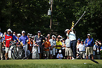 Tiger Woods (USA),<br /> June 15, 2013 - Golf :<br /> Tiger Woods of United States tees off on 6th hole during the third round of the U.S. Open Championship at the Merion Golf Club, East course in Haverford Township, Delaware Country, Pennsylvania. (Photo by Koji Aoki/AFLO SPORT) [0008]