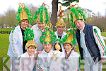 Some of the biddy group who performed at Muckross House, Killarney on Sunday in aid of Kerry Parents and Friends were Mary Kissane, Patie Moriarty, Joan Brosnan, Kathleen Moriarty, John Coffey, Paudie Kissane and Donie O'Donoghue.......................