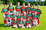 The Scoil Realt na Mara Tousist team that played in the Cumann na mbunscoil final in Beaufort on Thursday front row l-r: Maggie Gavin, Saoirse Driscoll, Sarah Gavin Middle row , Clodagh Rochford, Susan Torey, Julia Harrington, Niamh Wilson, Ailish Driscoll, Sophie Ryan, Back row: Grace O'Brien, Chloe Cremin, Aoife McGahan, Bailie Murray, Isobel Ryan, Abbie Dunlop, Leah Harrington,