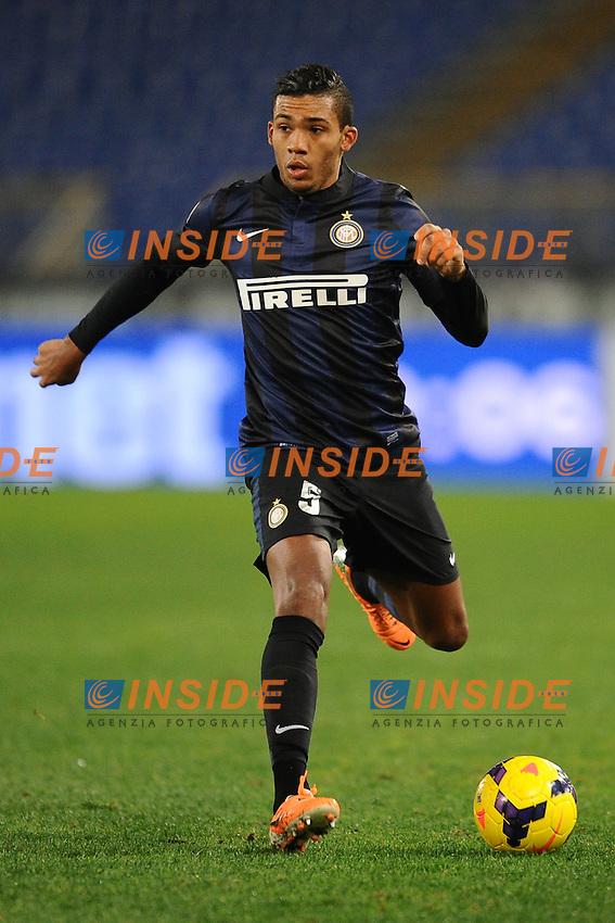 Juan Jesus Inter.<br /> Roma 06-01-2014 Stadio Olimpico. Football Calcio 2013/2014 Serie A. Lazio - Inter. Foto Antonietta Baldassarre / Insidefoto