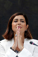 Laura Boldrini<br /> Roma 18/07/2017. Cerimonia del Ventaglio con la Presidente della Camera e la stampa parlamentare.<br /> Rome July 18th 2017. Ceremony of the fan with the President of the Chamber of Deputies and the Parliamentary press.<br /> Foto Samantha Zucchi Insidefoto