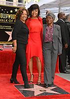 LOS ANGELES, CA. January 28, 2019: Taraji P. Henson, Bernice Gordon & Patsy Ballard at the Hollywood Walk of Fame Star Ceremony honoring Taraji P. Henson.<br /> Pictures: Paul Smith/Featureflash