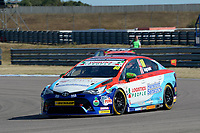 #80 Tom Ingram Speedworks Motorsport Toyota Avensis during BTCC Practice  as part of the Dunlop MSA British Touring Car Championship - Rockingham 2018 at Rockingham, Corby, Northamptonshire, United Kingdom. August 11 2018. World Copyright Peter Taylor/PSP. Copy of publication required for printed pictures.