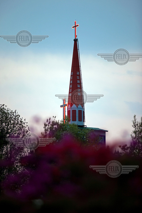 A church in Anseong.