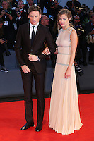 Actor Eddie Redmayne and his wife Hannah Bagshawe attend the red carpet for the premiere of the movie 'The Danish Girl' during 72nd Venice Film Festival at Palazzo Del Cinema in Venice, Italy, September 5.<br /> UPDATE IMAGES PRESS/Stephen Richie