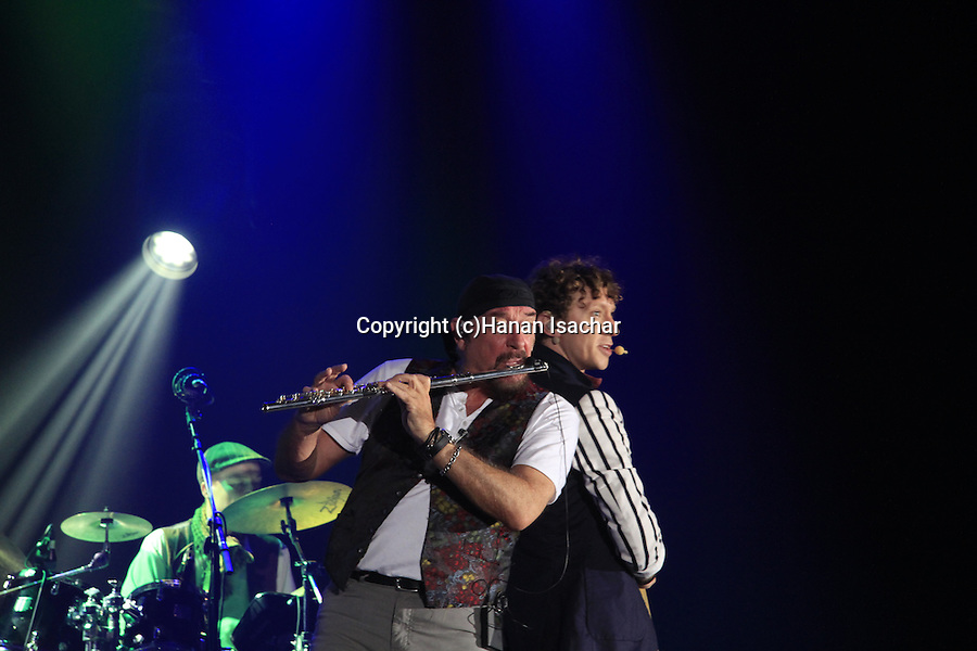 Israel, Ian Anderson plays ?Thick as a Brick? at Hangar 11 in Tel Aviv, with Ryan O'Donnell-Vocals