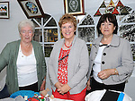 Kathy Gibney, Nuala Ryan and Kitty Flaherty pictured at the Fair on the green in Duleek. Photo: www.pressphotos.ie
