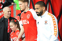 Blackpool's Liam Feeney<br /> <br /> Photographer Kevin Barnes/CameraSport<br /> <br /> The EFL Sky Bet League One - Fleetwood Town v Blackpool - Saturday 7th March 2020 - Highbury Stadium - Fleetwood<br /> <br /> World Copyright © 2020 CameraSport. All rights reserved. 43 Linden Ave. Countesthorpe. Leicester. England. LE8 5PG - Tel: +44 (0) 116 277 4147 - admin@camerasport.com - www.camerasport.com