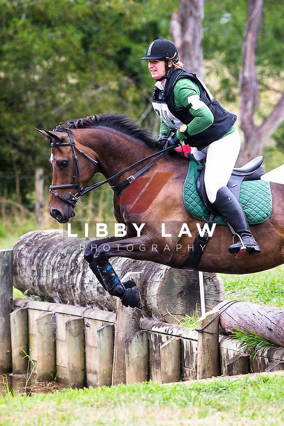 NZL-Rachel Walsh (LACROSSE) 2B NZPC 95: 2015 NZL-Hunua Pony Club ODE (Sunday 1 February) CREDIT: Libby Law COPYRIGHT: LIBBY LAW PHOTOGRAPHY