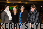 Pictured at the Phil Coulter Concert in association with Westfest at the Devon Inn Hotel, Templeglantine on Friday night was L-R: Daria O'Donoghue, Hannah Vasekila, Alena Varuyeva, Svetlana Dunworth, Newcastle west.