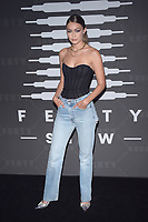 BROOKLYN, NY - SEPTEMBER 10: Gigi Hadid at Rihanna's second annual Savage X Fenty Show at Barclay's Center in Brooklyn, New York City on September 10, 2019. <br /> CAP/MPI/JP<br /> ©JP/MPI/Capital Pictures