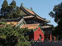 Runde Stadt-Tuancheng am Beihai-See, Peking, China, Asien<br /> Round City Tuancheng at Beihai lake, Beijing, China, Asia