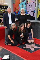 LOS ANGELES, CA. August 27, 2018: Weird Al Yankovic, Suzanne Krajewski Yankovic, Nina Yankovic & Guests  at the Hollywood Walk of Fame Star Ceremony honoring 'Weird Al' Yankovic.
