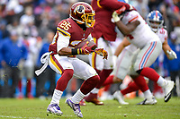 Landover, MD - December 9, 2018: Washington Redskins running back Chris Thompson (25) in action during game between the New York Giants and Washington Redskins at FedEx Field in Landover, MD. The Giants defeated the Redskins 40-16 dropping the Redskins to 6-7 on the season. (Photo by Phillip Peters/Media Images International)