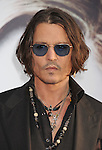 HOLLYWOOD, CA - MAY 07: Johnny Depp attends the Los Angeles premiere of 'Dark Shadows' at Grauman's Chinese Theatre on May 7, 2012 in Hollywood, California.